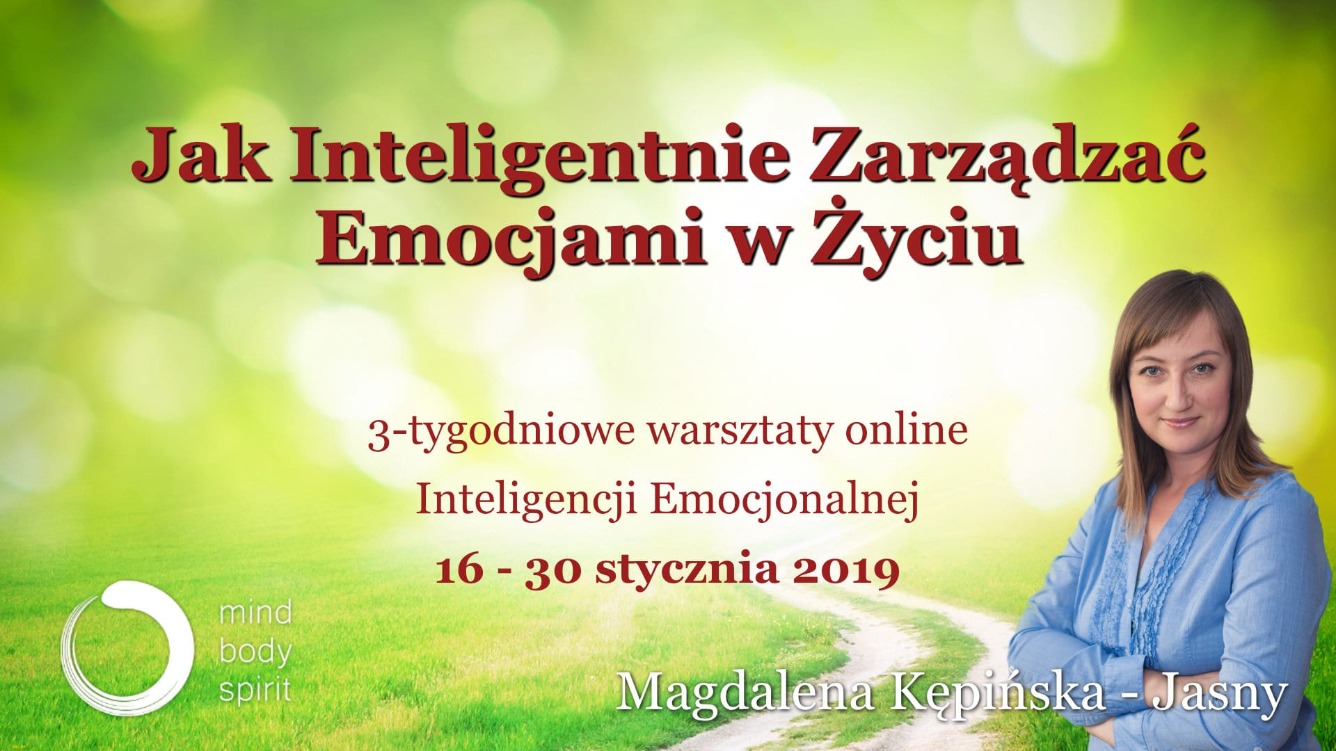 Inteligencja Emocjonalna - Magdalena Kępińska-Jasny